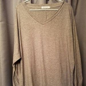 MISSLOOK Brand, Top Shirt XL, Gray